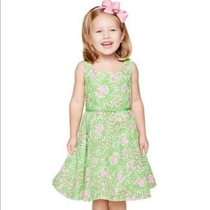 NWT Lilly Pulitzer dress, little girls size 2